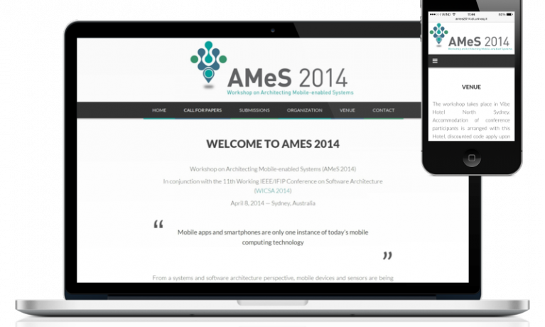 AMeS 2014 website