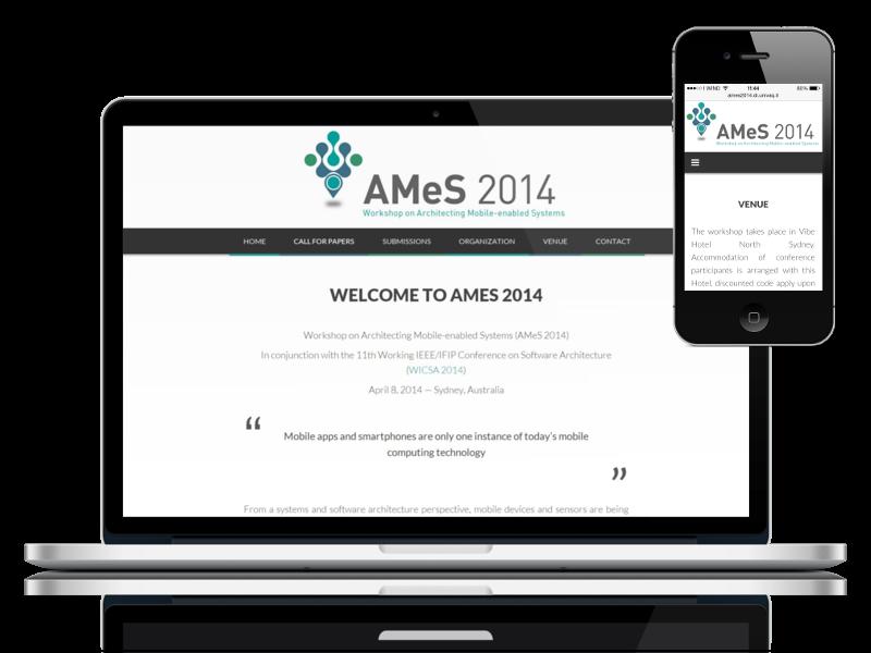 AMeS 2014 website