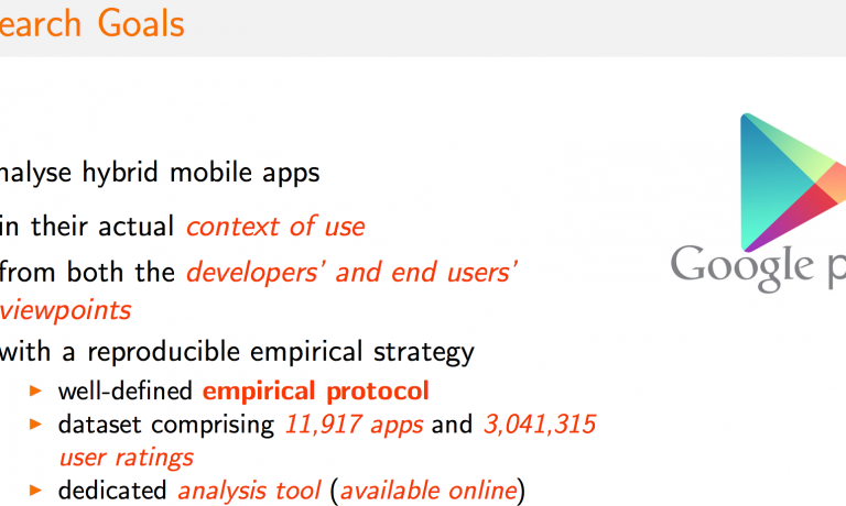 Hybrid Mobile Apps in the Google Play Store: An Exploratory Investigation